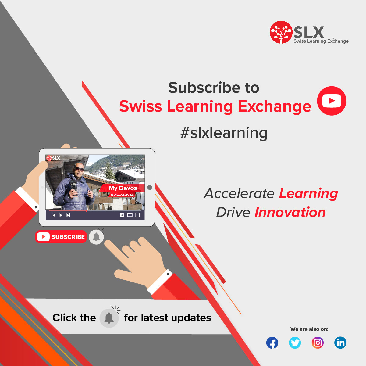 Subscribe to Swiss Learning Exchange